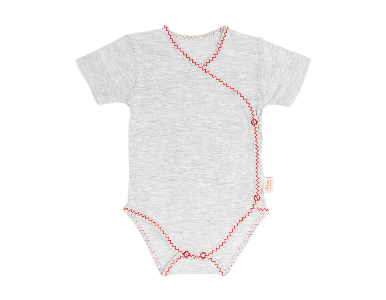 6834c0cf790340 kopertowe body niemowlęce krótki rękaw ze 100% bawełny » Dla ...