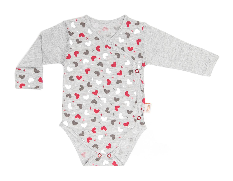 Ogromny Body dla niemowląt z długim rękawem 100% bawełna » Dla maluszka XR57